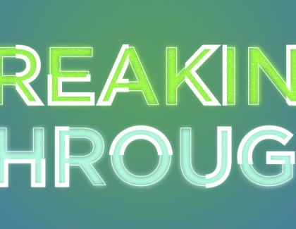 Celebrating a breakthrough achievement