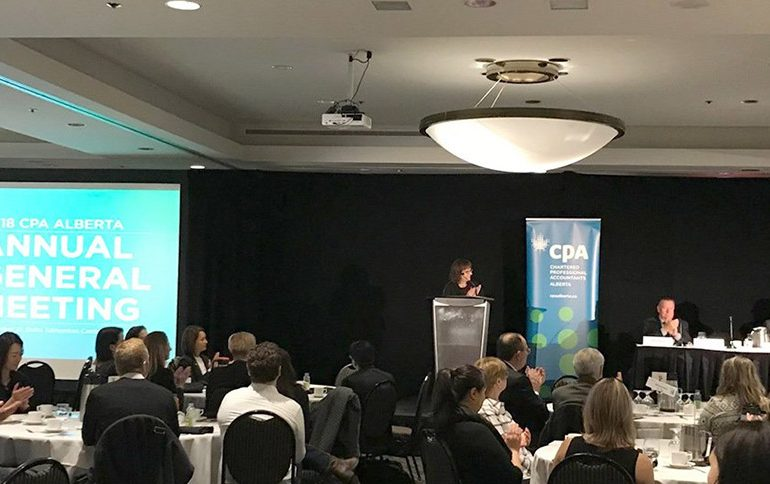 Highlights from the 2018 CPA Alberta AGM