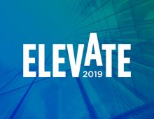 Save the date for Elevate 2019: Celebrating Progress and Achievement