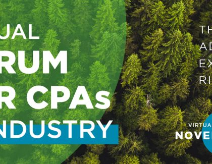 Attend CPA Alberta's virtual Annual Forum for CPAs in Industry